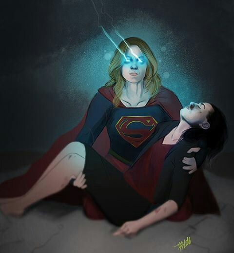 Who did this?   Supercorp/Supergirl in 2019   Supergirl