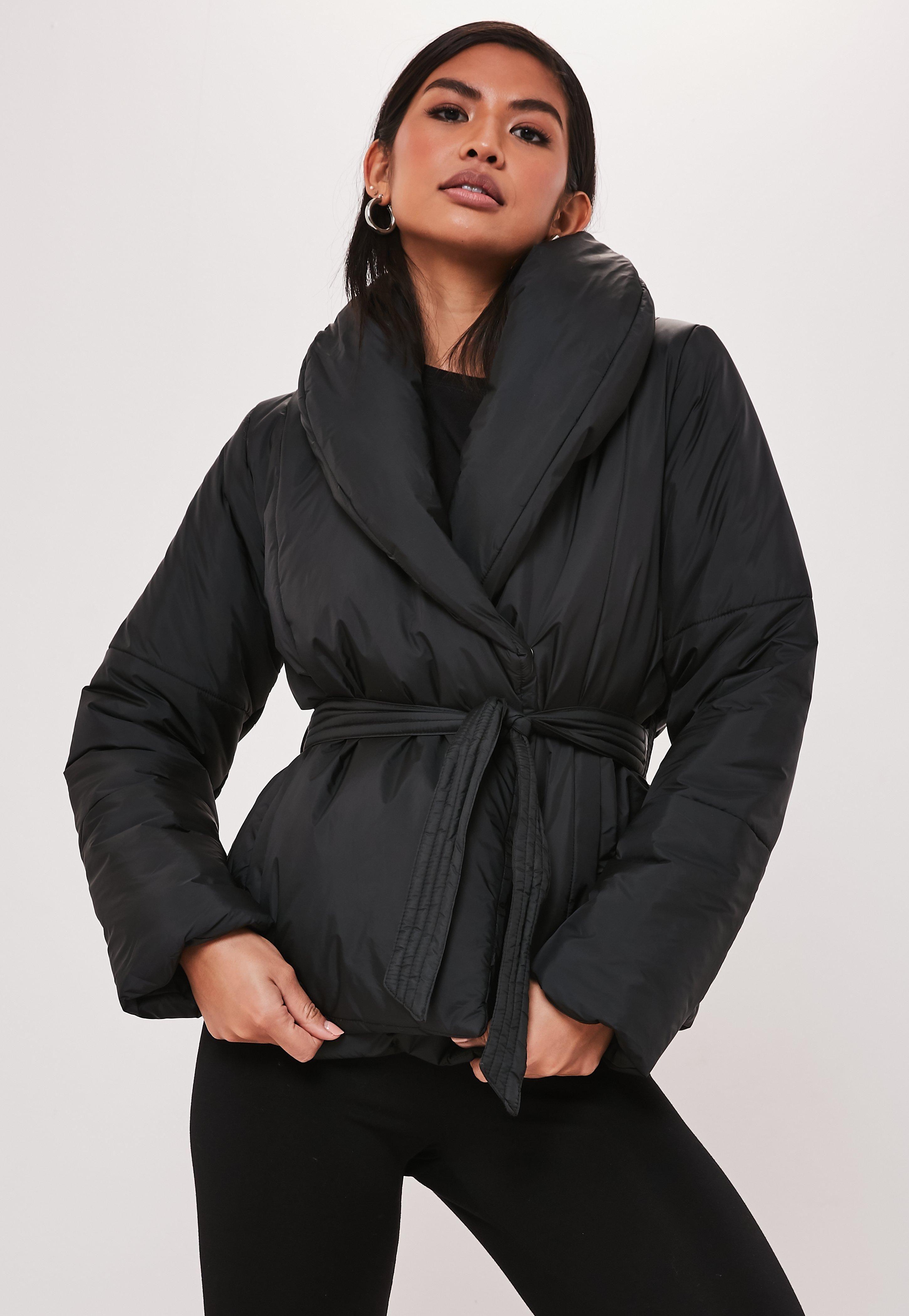 Black Wrap Puffer Jacket Sponsored Wrap Ad Black Jacket Puffer Jacket Style Petite Winter Coats Puffer Jackets [ 4200 x 2900 Pixel ]