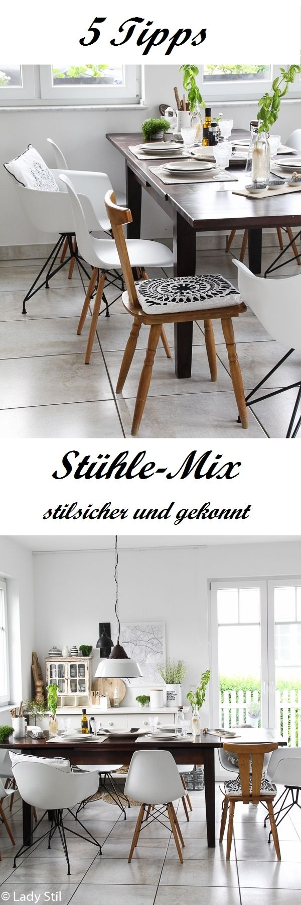 f nf tipps f r den st hle mix lady stil blog pinterest. Black Bedroom Furniture Sets. Home Design Ideas