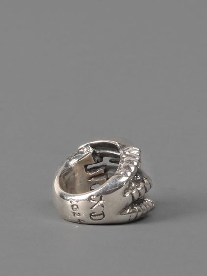 KD2024 SILVER CLAW RING