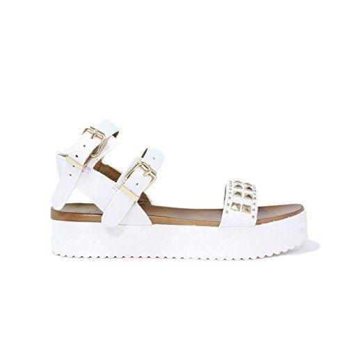 Low Heel Sandale Damenschuhe Carrarmato La femme plus mod 034-2 Woman Neue Kollektion Sommer 2015 made in italy - http://on-line-kaufen.de/la-femme-plus/low-heel-sandale-damenschuhe-carrarmato-la-femme-8
