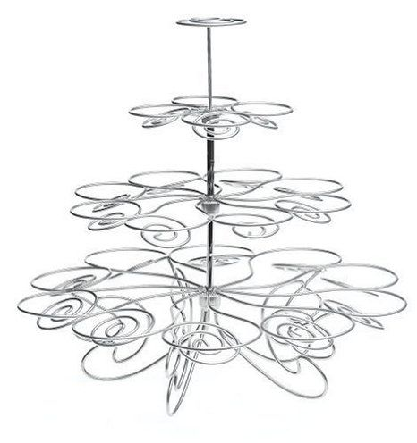 Cupcake Stand (hold 23 cupcakes) (SILVER, 1)