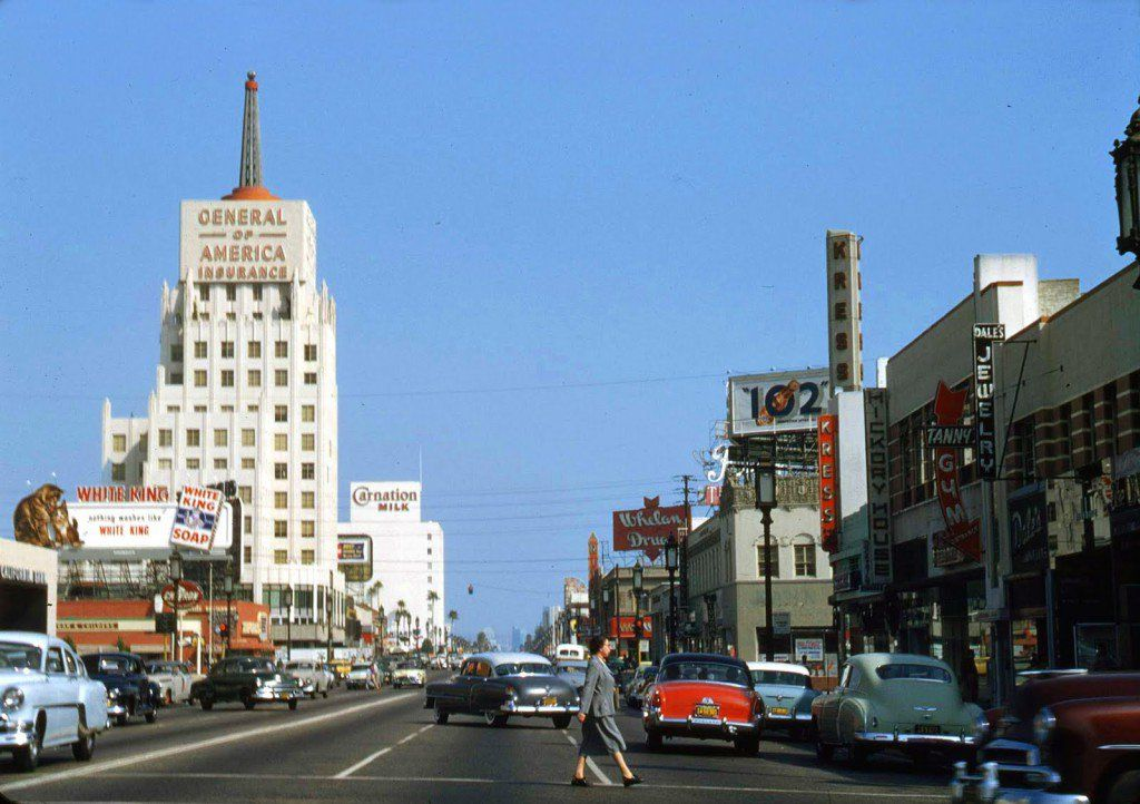 18 Beautiful Vintage Color Photos Of Los Angeles From The 1950 S