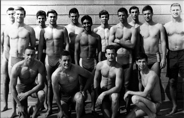 swim men nude team