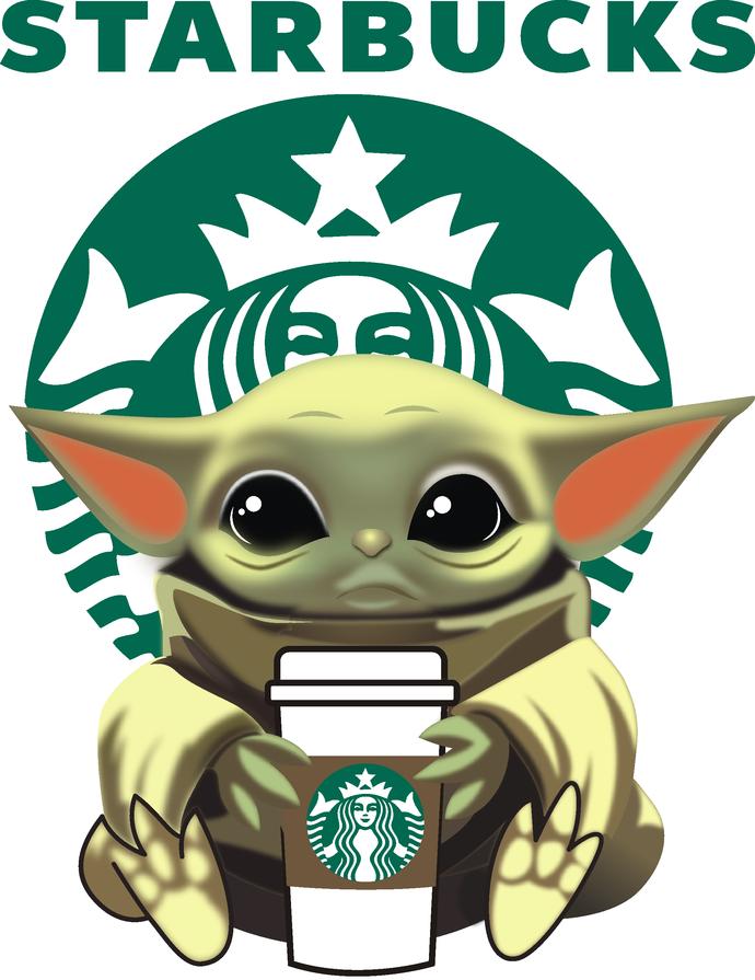 Baby Yoda Starbucks Coffe Life Starbucks Jedi Star Wars Coffee Is My Jam Pumpkin Spice Happy Fall Y All Latte Cappuccino Png Yoda Pictures Yoda Wallpaper Yoda Sticker
