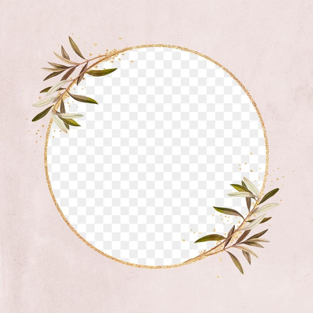 Round Frame Png Glitter Gold Pattern Free Image By Rawpixel Com Ningzk V Gold Pattern Frame Design Frame