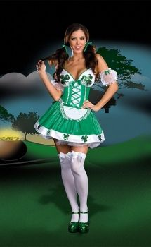 St. Patrick - Lucky Charm International Costume Dress