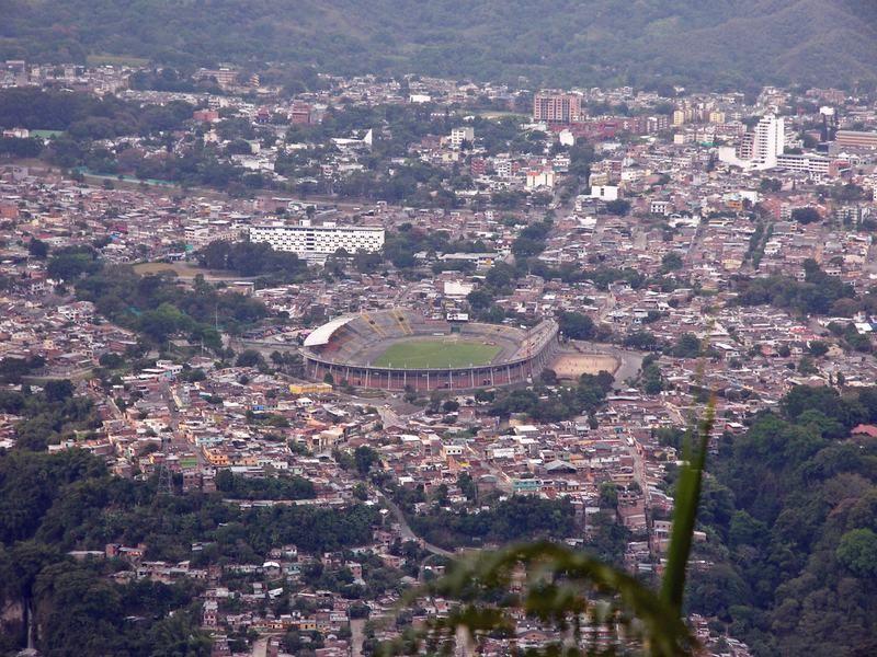Panoramica Estadio Manuel Murillo Toro, Ibagué