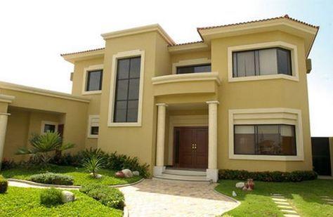 Carta de colores para fachadas de casas planos de casas - Pinturas de casas modernas ...
