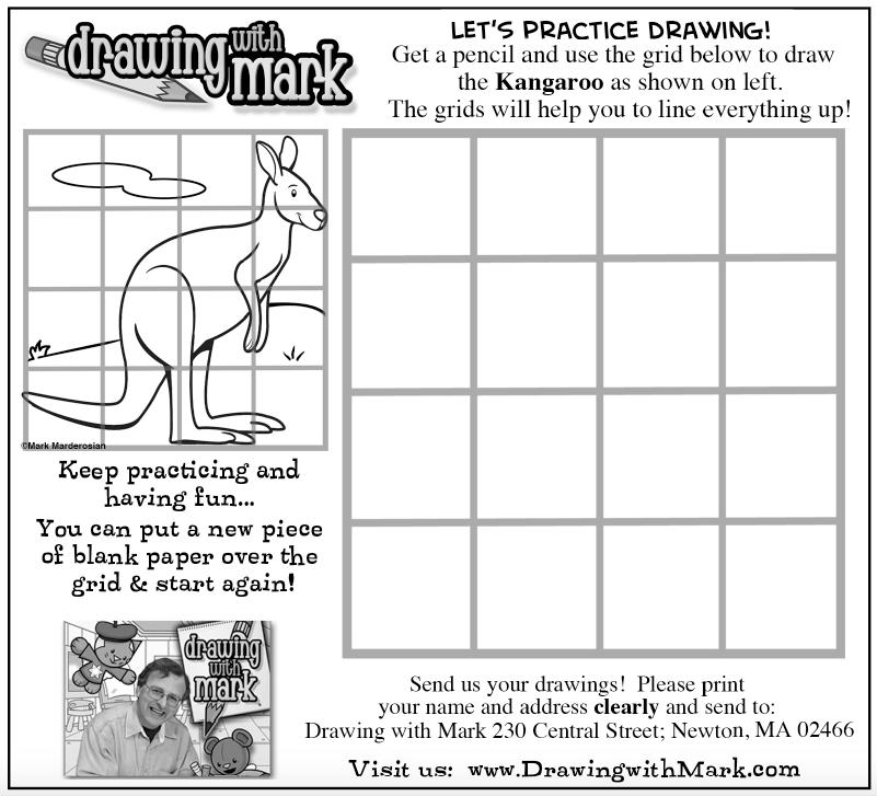 Learn To Draw This Fun Kangaroo