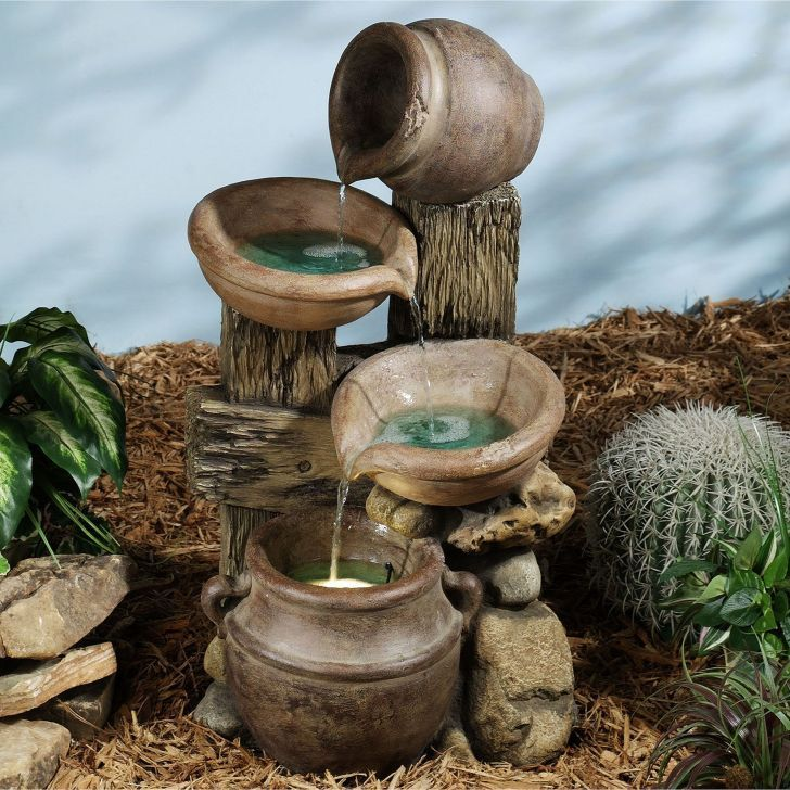 Diy home water fountain ideas fontaine interieur