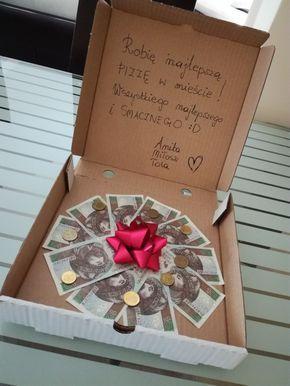 Prezent Na Urodziny Pizza Pakowanie Prezentow Presents For Best Friends Birthday Presents Birthday Diy