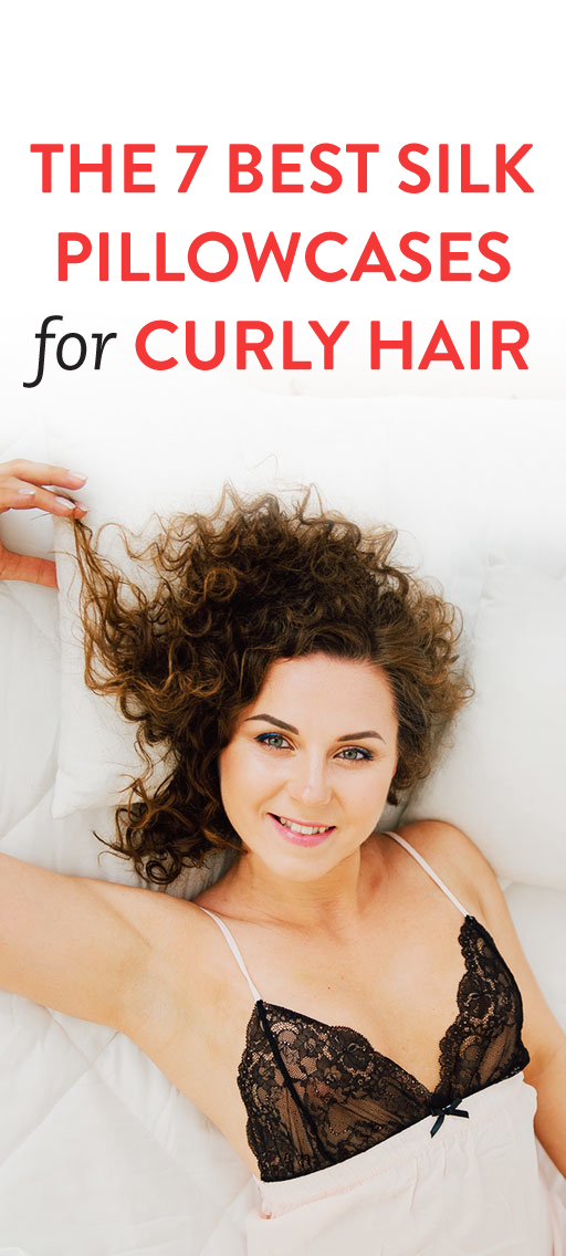 Best Silk Pillowcase For Hair 7 Silk Pillowcases That Help You Wake Up With Healthier Hair  Curly