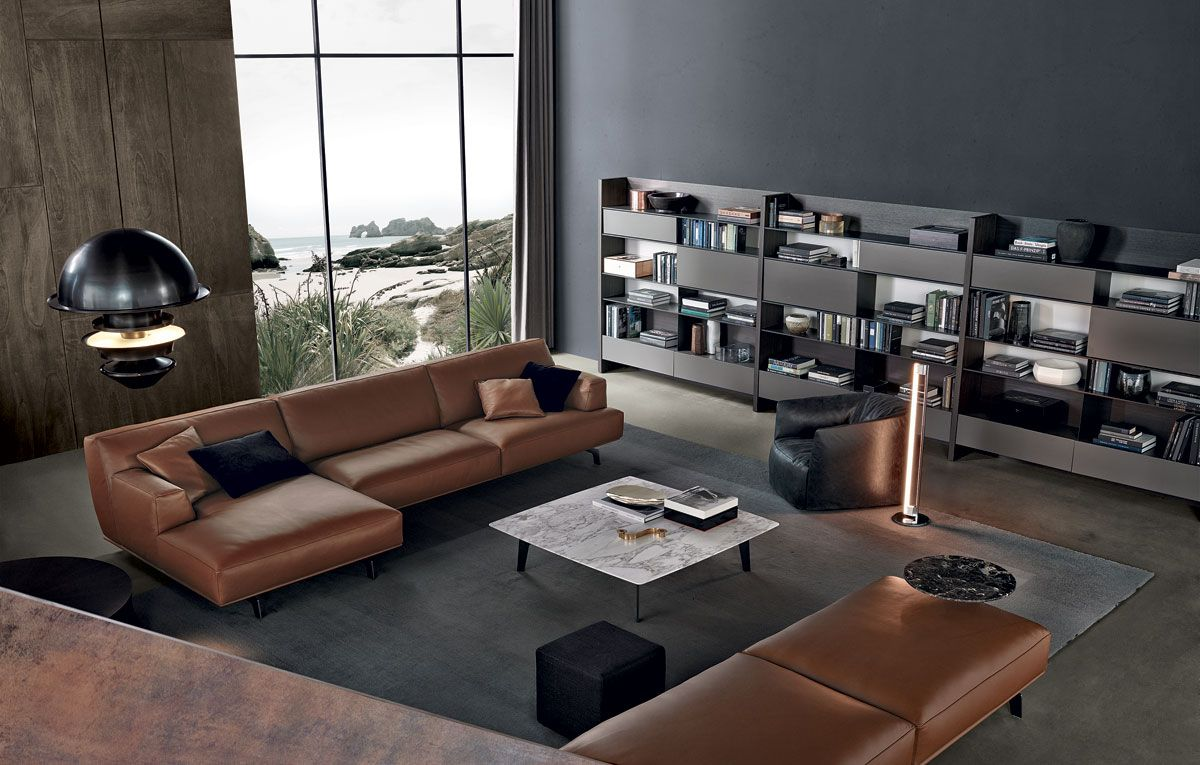 Poliform tribeca the modern home furniture collection is offered by richlin interiors in naples florida visit our showroom for poliform kitchen and home