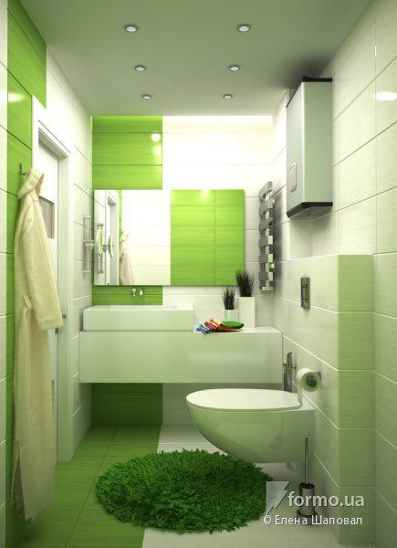 Sanuzly Elena Shapoval Vannaya Sanuzel Dizajn Intererov Formo Ua Bathroom Design Luxury Small Bathroom Decor Green Bathroom