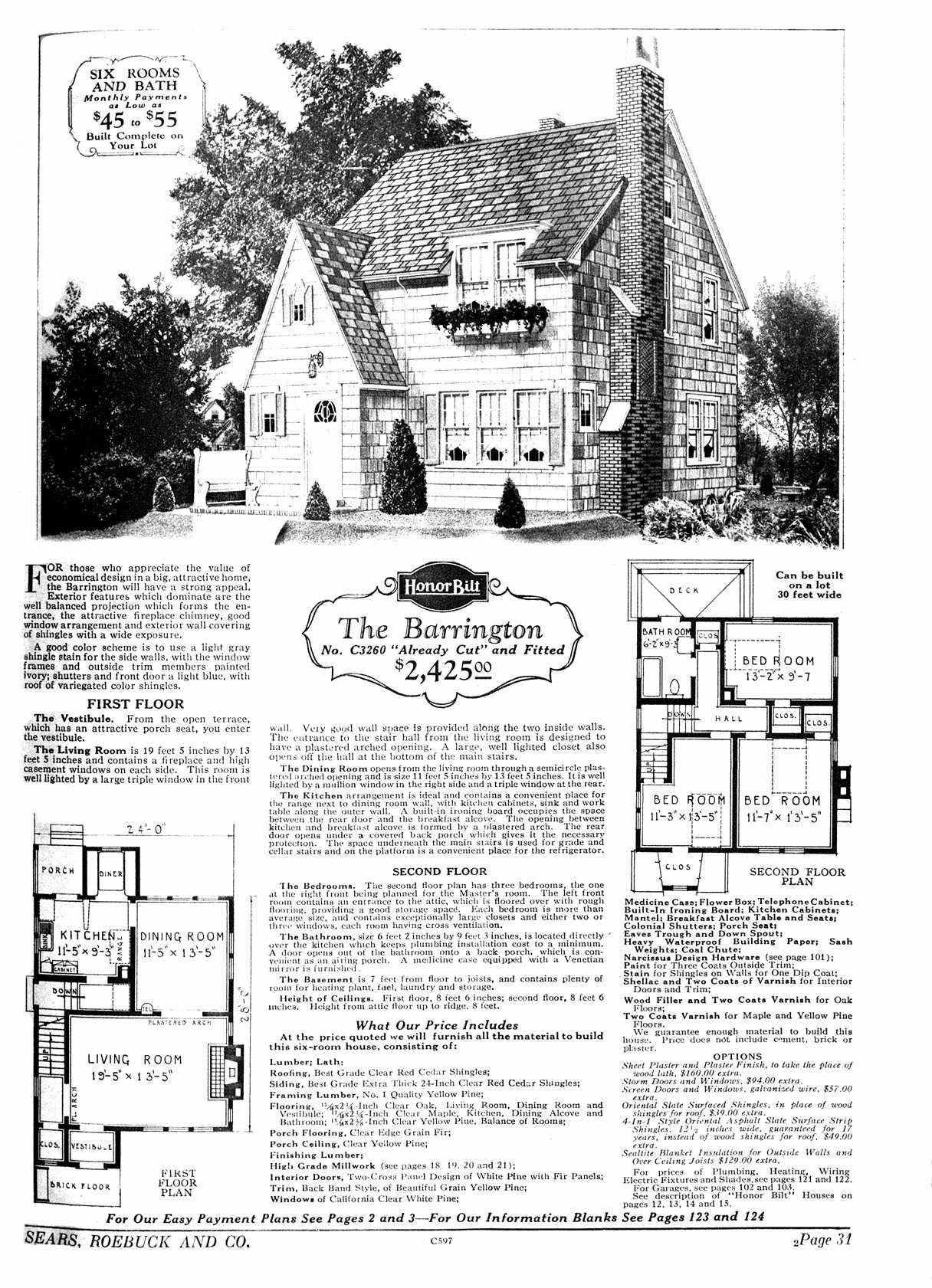 1930s house floor plans pittsburgh - Google Search | The Piano ...