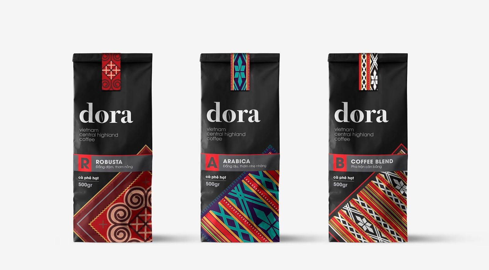 Dora Vietnam Central Highland Coffee Highlands Coffee Coffee Branding Blended Coffee