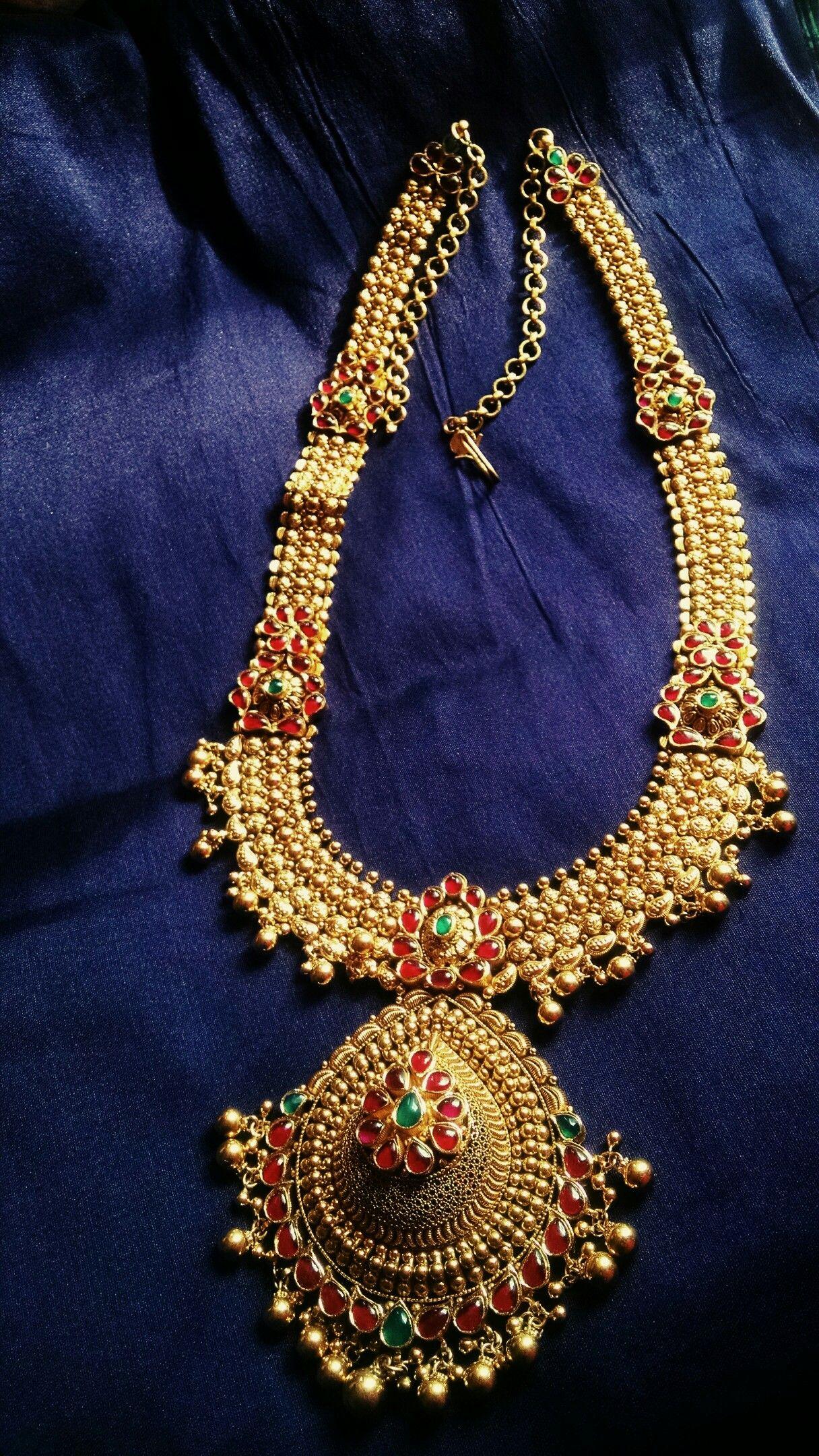 Antique gold necklace vintage grt kundan gold antique bridal
