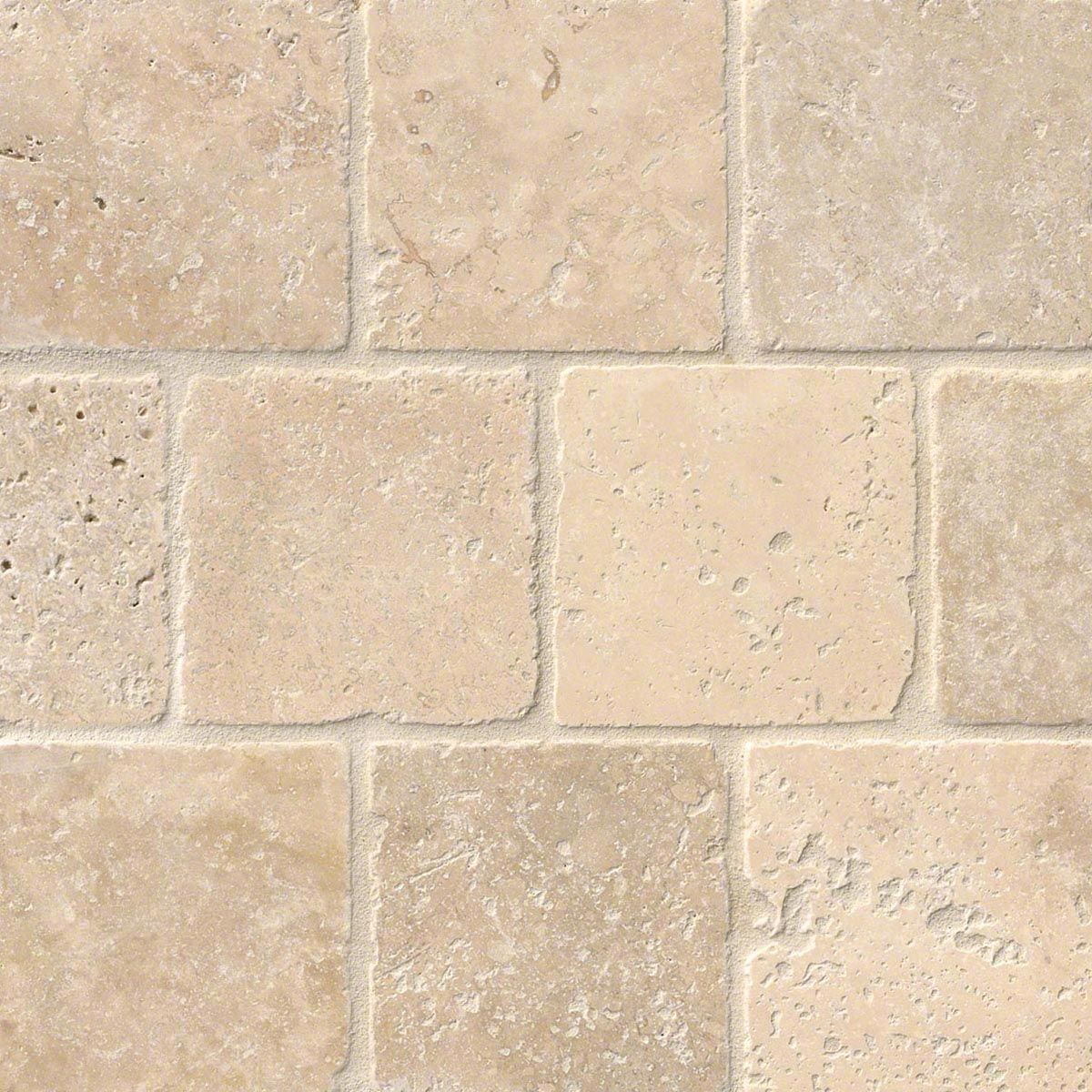 Tuscany classic 4x4 tumbled tile stone backsplash for Travertine accent tile