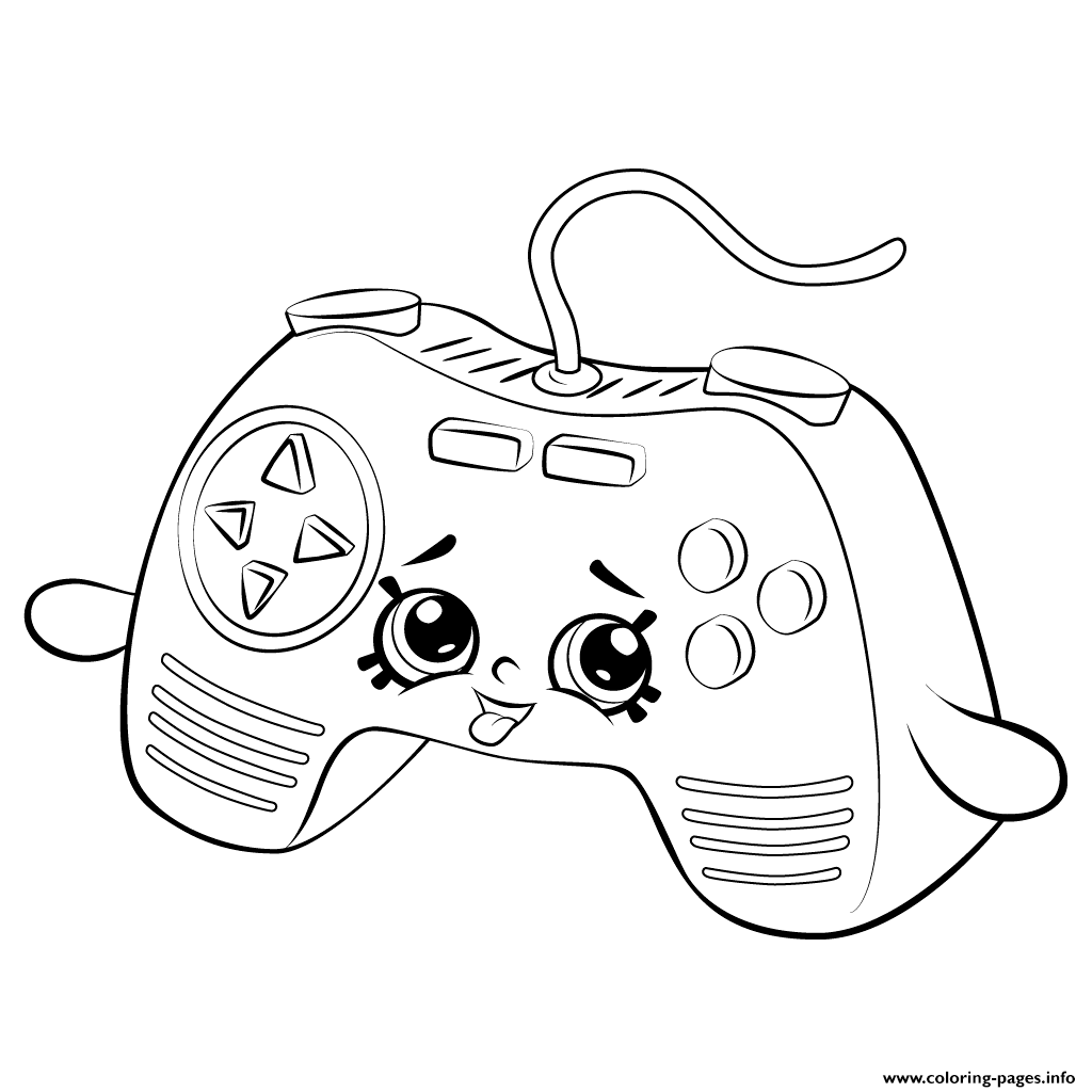 Print Remote Game shopkins season 5 coloring pages