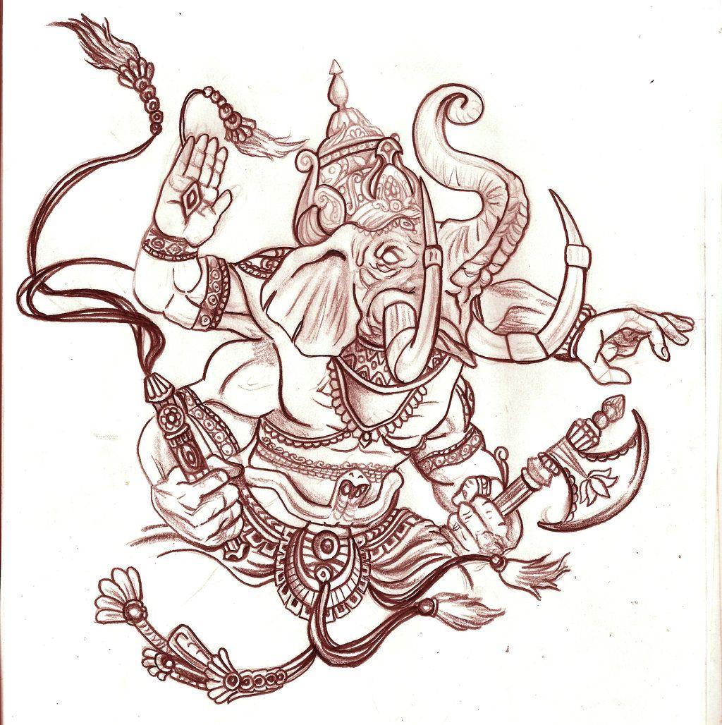 11 ganesha tattoo designs ideas and samples - Ganesh Tattoo Designs For Men Ganesh Tattoo Design By Eder1985 In Tattoo