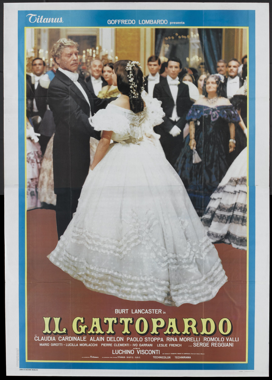 Una Pagina De Cine 1963 Il Gattopardo El Gatopardo Ita 01 Jpg Fotografia De Cine Cine Afiche De Cine