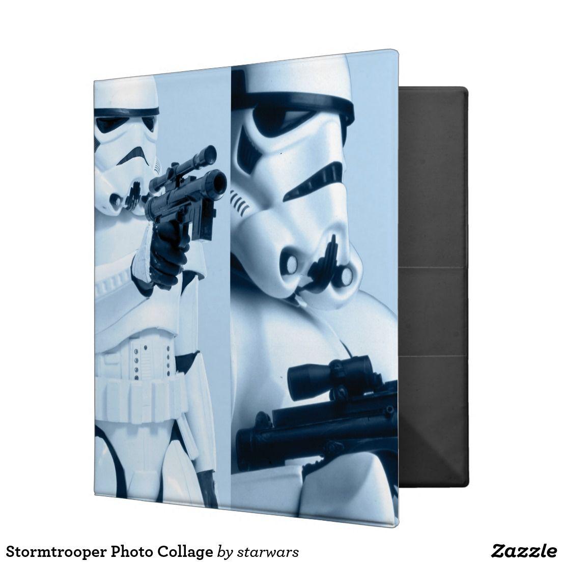 Stormtrooper Photo Collage 3 Ring Binder