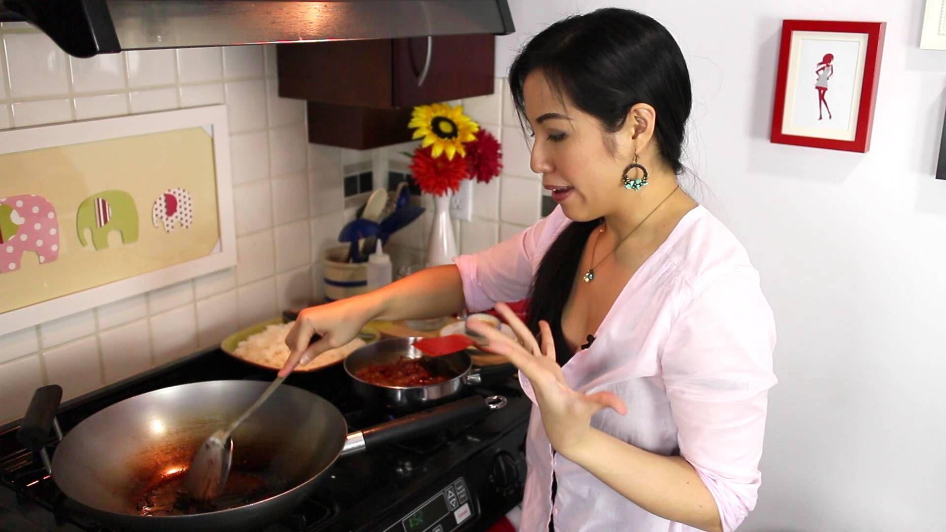 shrimp paste fried rice recipe hot thai kitchen - Hot Thai Kitchen