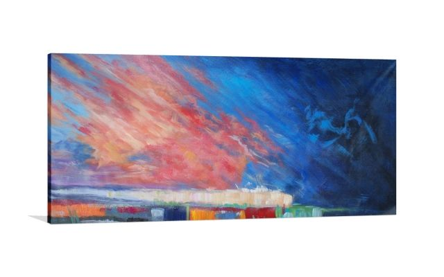 SKY REACH [627399100-1] - $399.00 | United Artworks | Original art for interior design, buy original paintings online