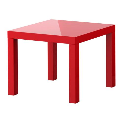 LACK Mesa auxiliar IKEA Las superficies brillantes reflejan la luz y dan vida al mueble.</t><t>Fácil de montar.</t><t>De poco peso. Fácil de mover.
