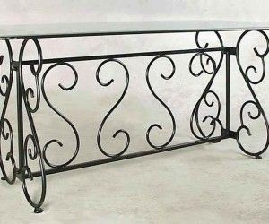 19 Wonderfull Wrought Iron Buffet Table Idea Wrought Iron Table