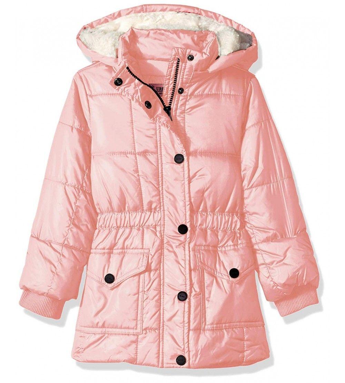 Girls Puffer Poly Polyfill Jacket Pink C718d8xiyw8 Size 4 Girls Puffer Girls Rain Jackets Girls Windbreaker [ 1112 x 1000 Pixel ]