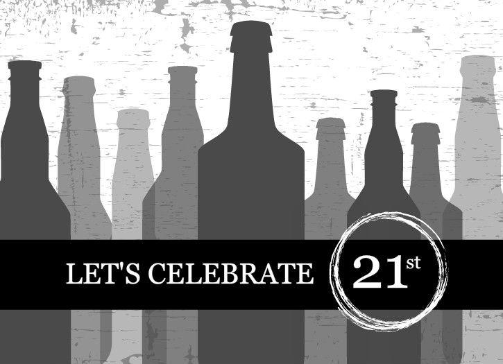 21st birthday free scrapbook printables 21st Birthday Party