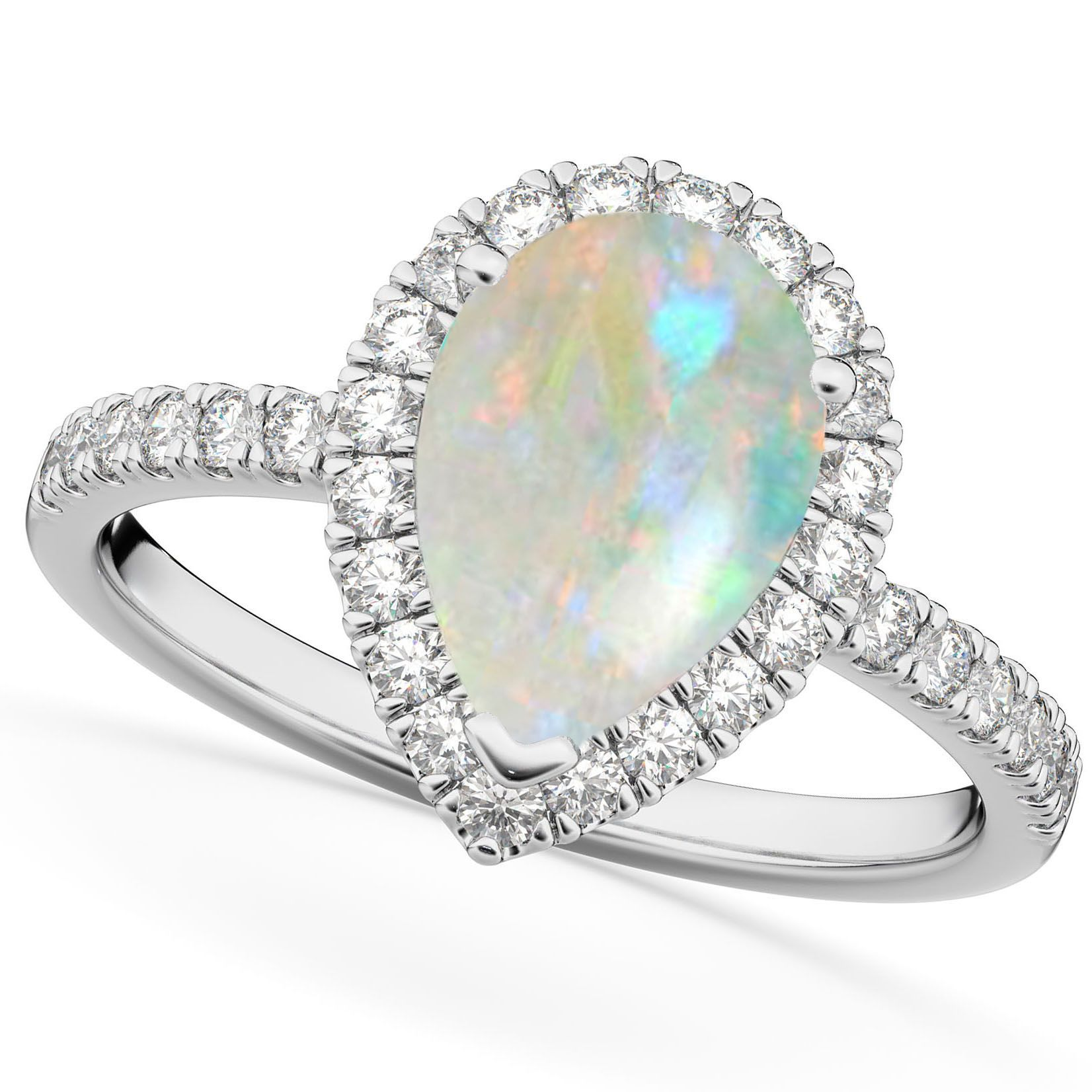Pin On Opal Engagement Rings