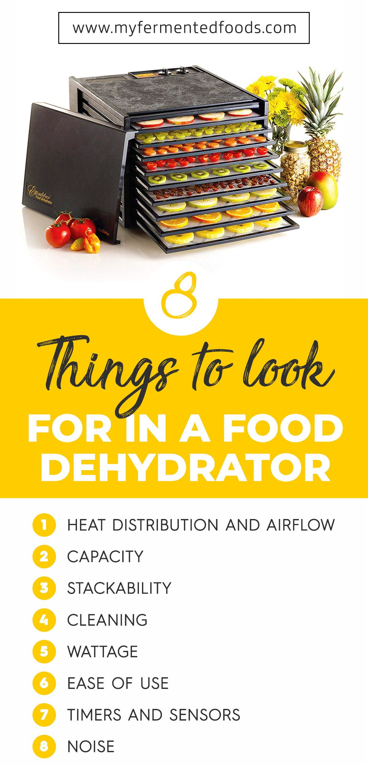 Learn what features to look for when choosing food