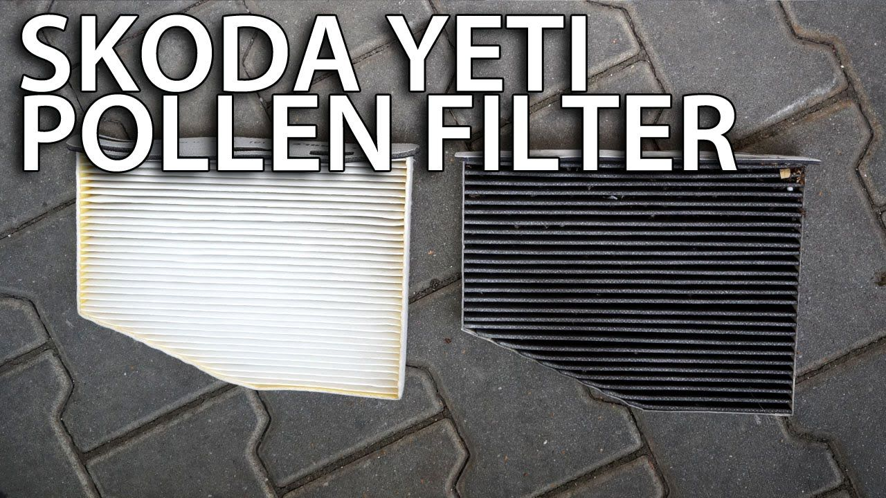 How to change pollen filter in Skoda Yeti (cabin air