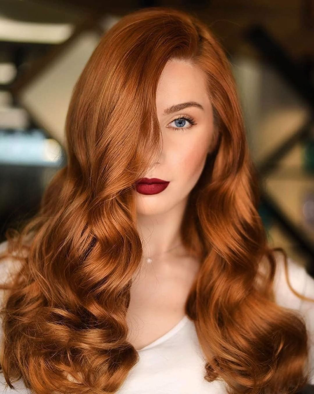 American Salon On Instagram Seeing Red Wassimmorkos Formula Wellahairusa Roots In 2020 Ginger Hair Color Strawberry Blonde Hair Hair Color Formulas