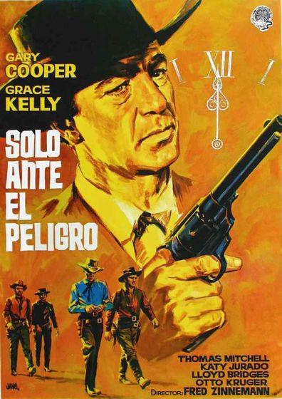 Solo Ante El Peligro 1952 Gary Cooper Zwölf Uhr Mittags Hauptdarsteller