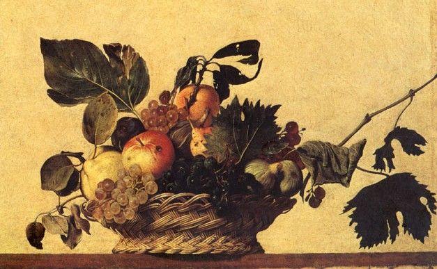 caravaggio opere -Canestra di frutta,