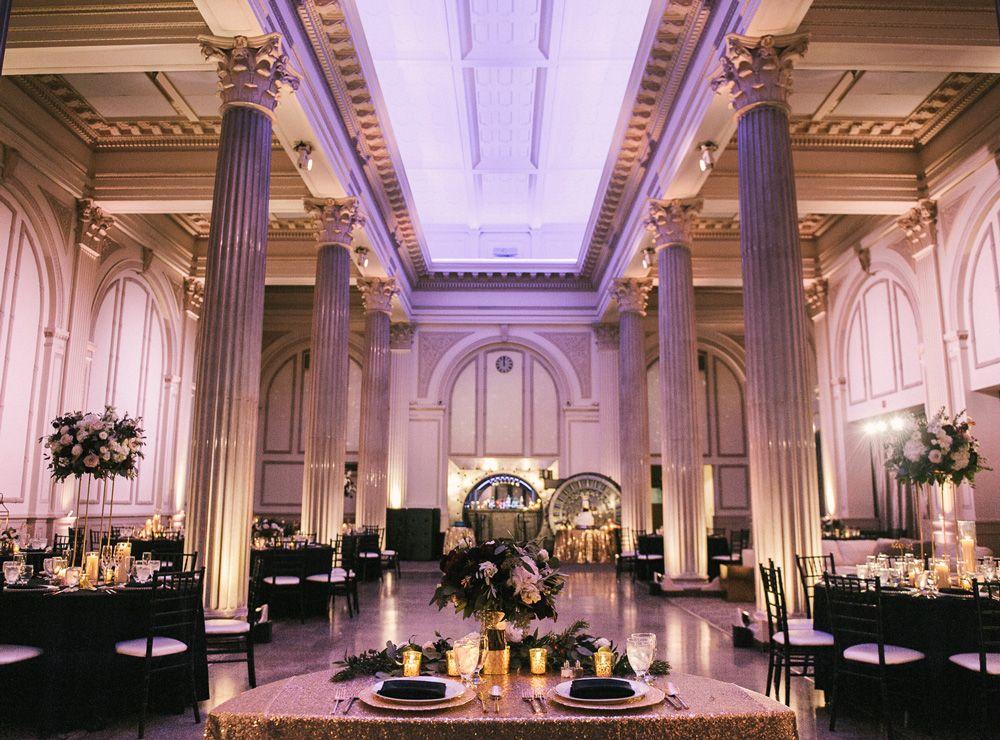 Wedding Reception at The Treasury on the Plaza St