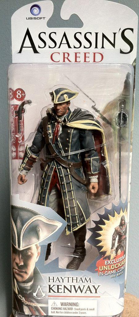 Assassin/'s Creed Haytham Kenway Action Figure McFarlane Toys