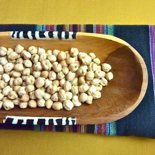 Dried Chickpeas 600