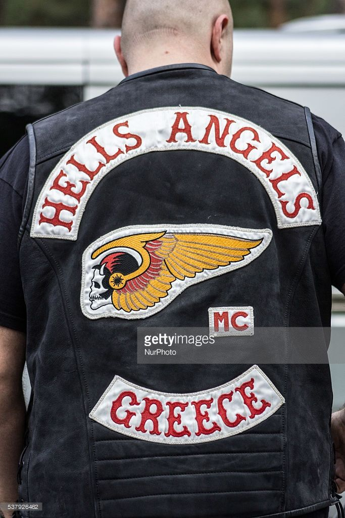 member-of-hells-angels-gang-during-37th-world-run-of-hells-angels-in