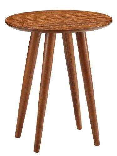 Boraam 33711 Zebra Series Varberg Side Table Honey Oak Boraam