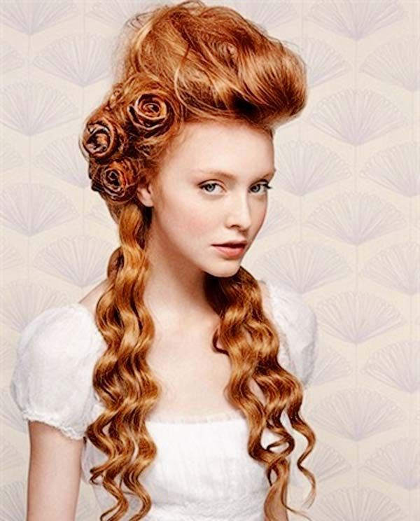 Retro Hairstyles Vintage Hairstyles Pinterest Victorian Hairstyles Steampunk Hairstyles Wedding Hairstyles For Long Hair