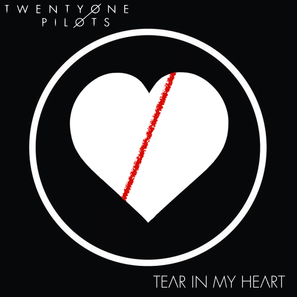Twenty One Pilots — Tear in My Heart (studio acapella)