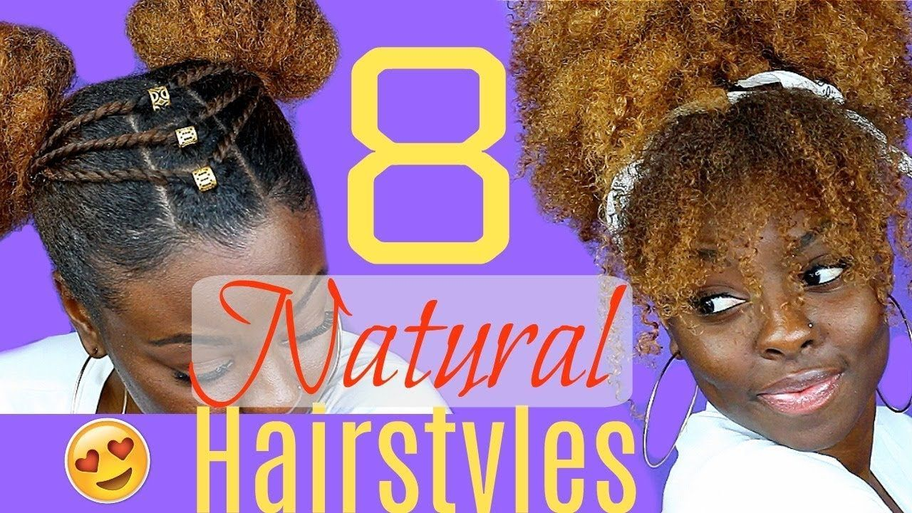 quick u easy hairstyles for natural hair easy hairstyles