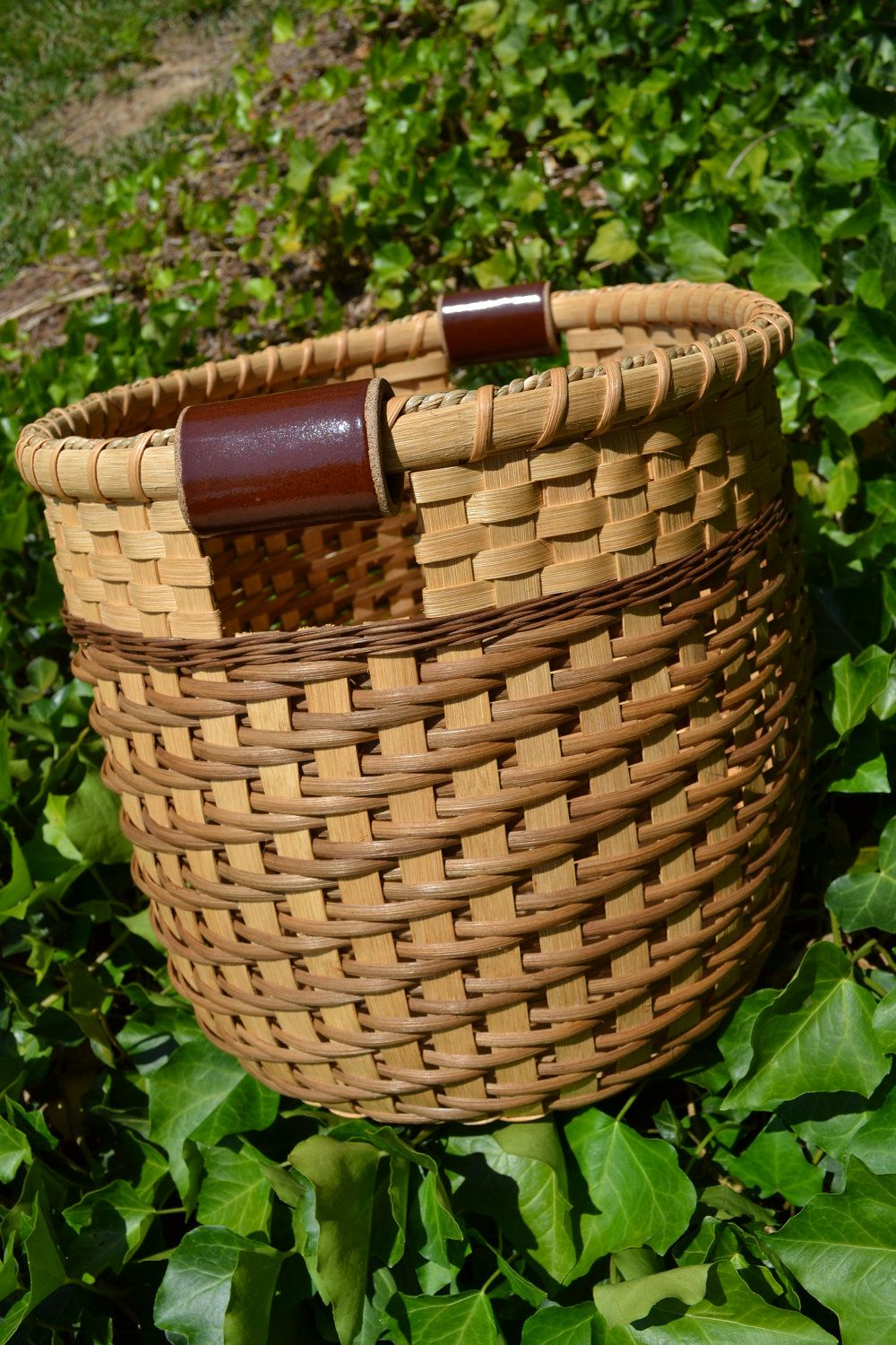 Reserved Listing For A Custom Made Large Handwoven Reed