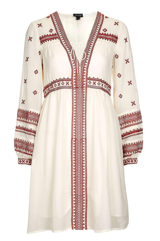 Grecian Smock Dress
