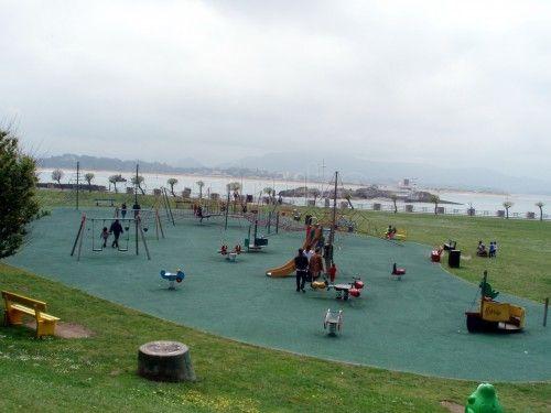 Parque infantil de la Magdalena en Santander